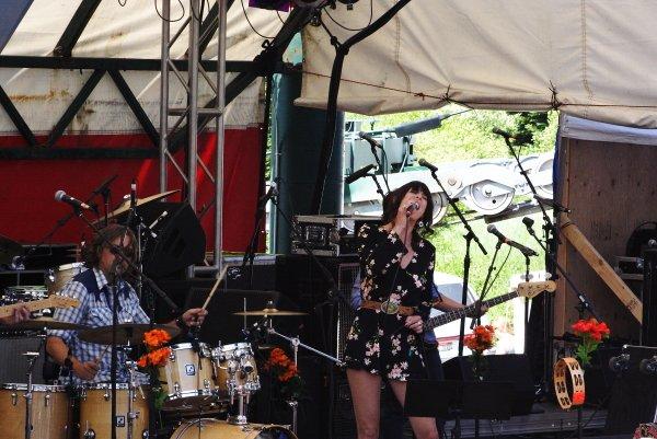 Nicki Bluhm & The Gramblers 2014 Targhee Fest Photo Mike Hardaker | Mountain Weekly News