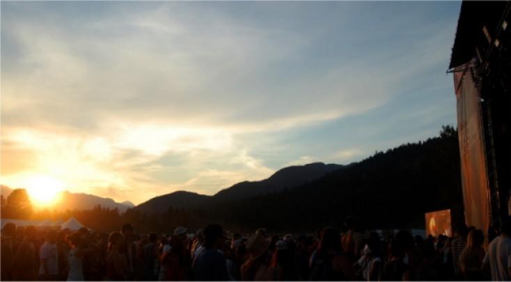 75,000 Music Fans Blast Off at Pemberton Fest