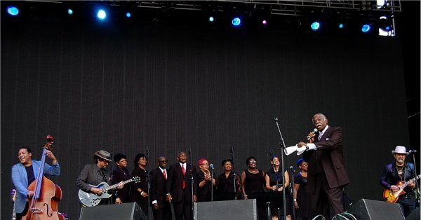 Hallelujah Train featuring Daniel Landis, Pastor Brady Blade. Photo: Jonathan Penfield | Mountain Weekly News