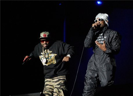 Clearly Outkast loving performing together again. Photo: Jonathan Penfield | Mountain Weekly News