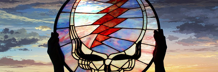 Grateful Dead Glass Art