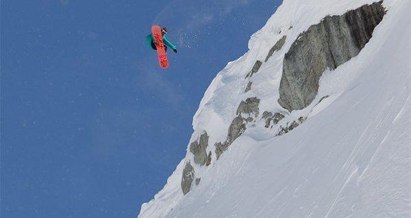3a7fe4c4fb Hana Beaman rocks Vans Snowboard Boots