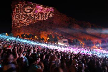 Big Gigantic Red Rocks Rowdy Town 3