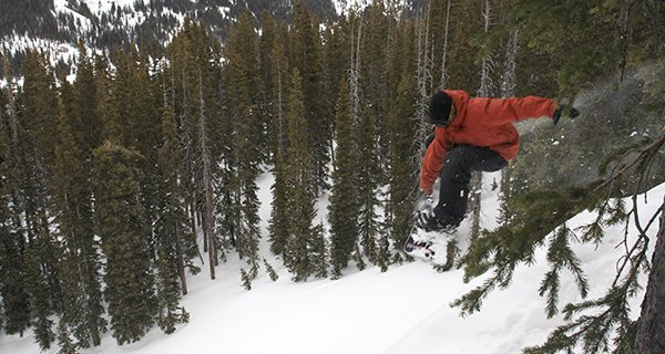 Charlie Hoch Ripping it up at Wolf Creek