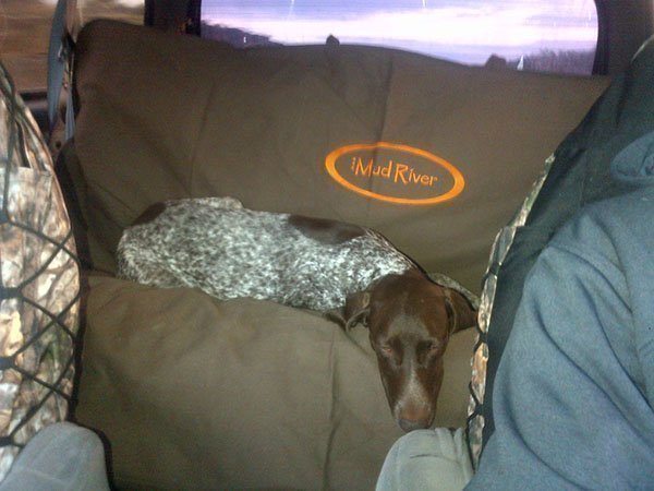 Mud River Seat Cover for Dogs Double Barrel