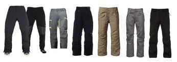 Top Men's Snowboard Pants