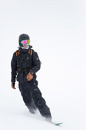 snowboard north face