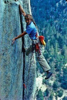 Lynn Hill in Yosemite