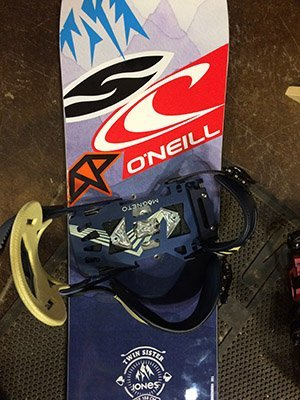 ONE Binding System Snowboard