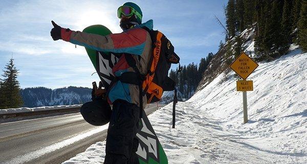 Mike Hardaker testing the 686 GLCR Hyrda Thermagraph Jacket on Teton Pass Photo Jeff Stein | Mountain Weekly News