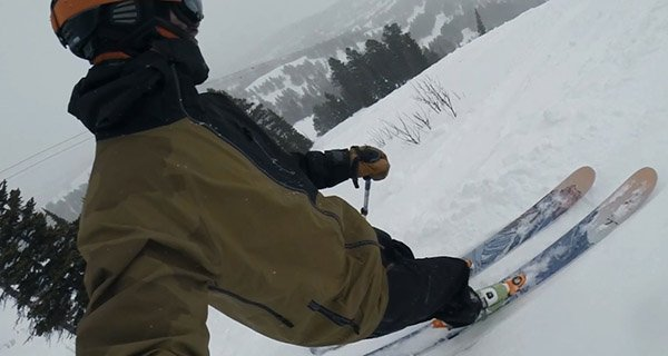 Chris Kirkpatrick testing the Armada Balfour Jacket in the Tetons Photo | Mountain Weekly News