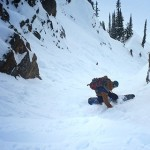Nathaniel Murphy putting the GNU Beast Splitboard to a solid test up in Revi Photo | Mountain Weekly News