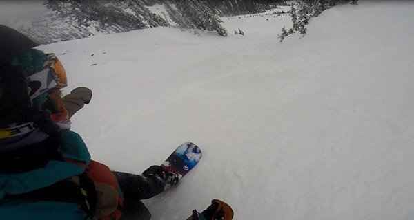 Stoked! Thanks Never Summer for making a pow surfers dream board! rider: Mike Hardaker | Bridger Bowl, MT