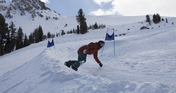 SIA Banked Slalom Snowboard Race