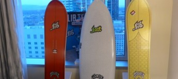 Surf Oriented Snowboard Shapes Coming to Market