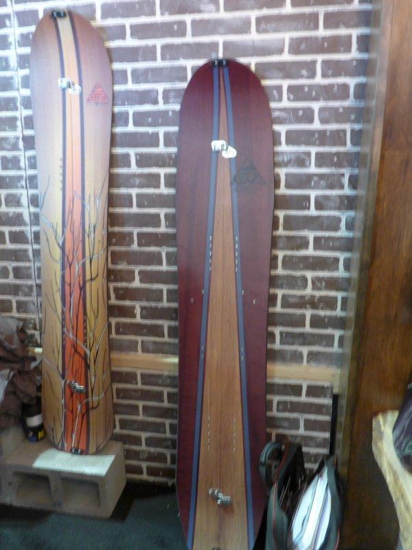 2016 OZ Snowboards Splitboard