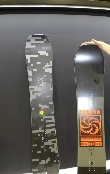 2016 Ride Berzerker Snowboard 2016 Ride Alter Ego Snowboard