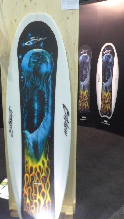 2016 Stewart Snowboard Surfboard