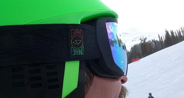 Giro Onset Google and Giro Helmet combo is unparalleled, Photo Mike Hardaker | Mountain Weekly News