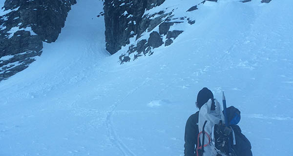 Ben Osborne and his Hyperlite Mountain Gear2400 Ice Pack Backpack Photo Mountain Weekly News