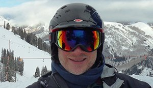 Bryan Luftglass testing the Julbo Universe Goggles in the Wasatch Photo   Mountain Weekly News