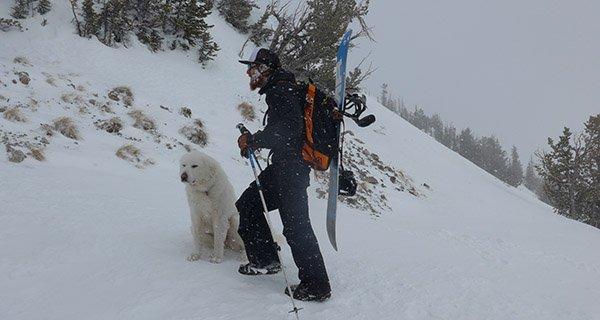 Mike Hardaker climbing 1,800 Vertical Feet in the LL Bean Packaway Photo Stephen Koch | Mountain Weekly News