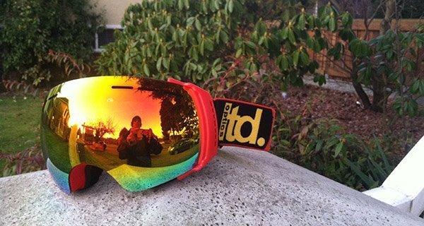 LTD Optics ELX Goggle Photo Ben Osborne | Mountain Weekly News