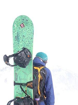 Lib Tech Greenest Snowboard Ever Made Photo Brent Fullerton | Mountain Weekly News