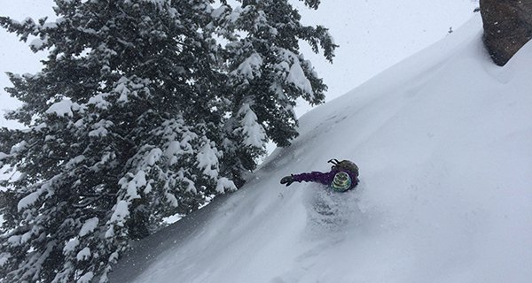 Brent Fullerton testing the Lib Tech TRS in the Jackson Hole Backcountry Photo Cooper Kahlenberg | Mountain Weekly News