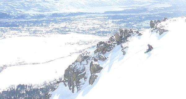 Mike Hardaker testing the 2016 Lib Tech Greenest Snowboard Ever Made