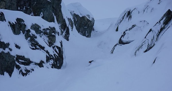 Benjamin Osborne fully pitted in his Now O-Drive Bindings Photo   Mountain Weekly News