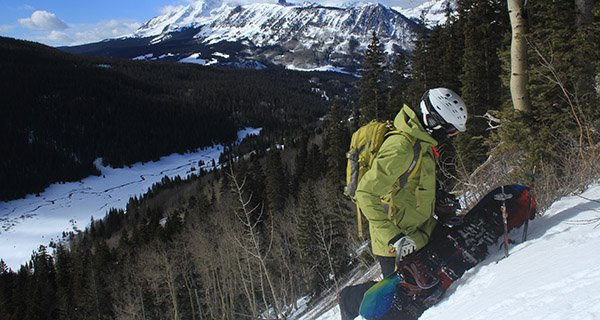 Kevin Donaghy testing the Spark R&D AfterBurner's quick transition deep in the San Juans Photo | Mountain Weekly News