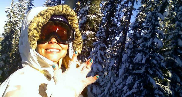 Brittany Artwohl rocking her Ashbury Warlock Goggles Photo | Mountain Weekly News