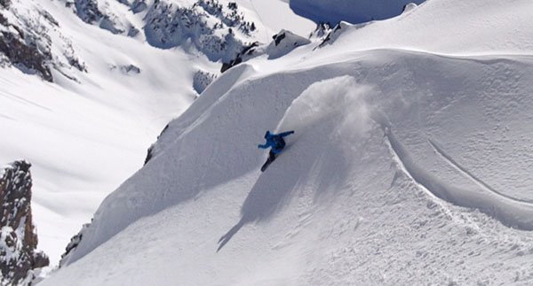 Buy the Evoc Line Team Backpack and make slashes like Nathaniel, it's that easy.. Photo | Mountain Weekly News