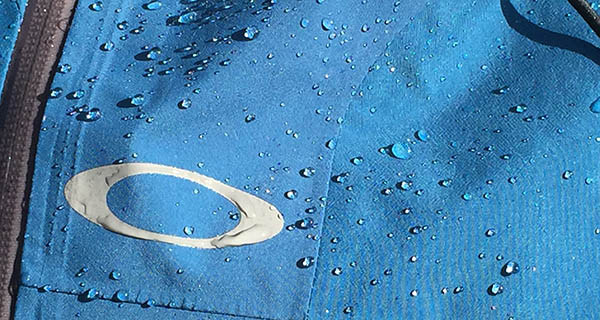 The Oakley Aircraft Jacket repels water with ease