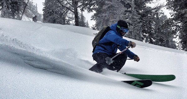 Jacob Stinson testing the Outdoor Research Axiom Jacket in the Tetons Photo | Mountain Weekly News