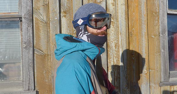 Mike Hardaker testing the Giro Onset goggle deep in Wyoming Photo Steve McGill | Mountain Weekly News