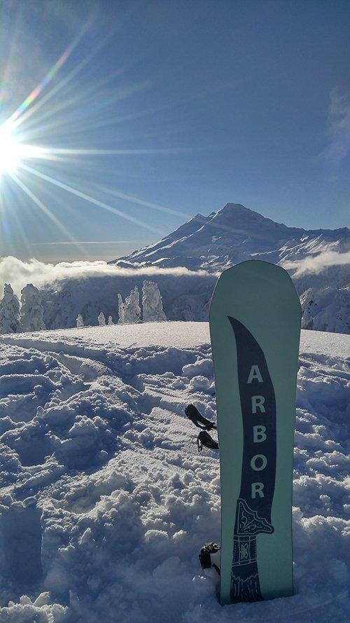 Arbor Snowboards Mt Baker