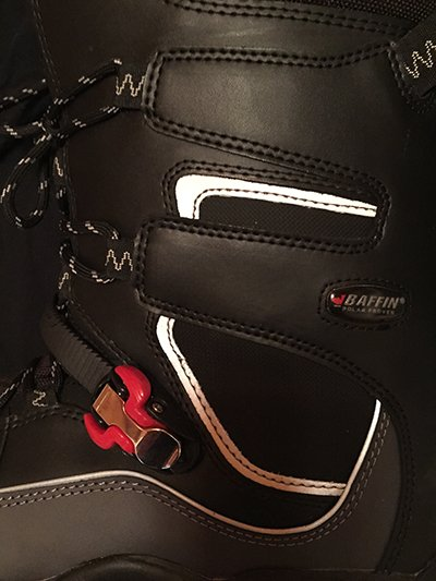 Baffin Hurricane Snowmobile Boot Buckle Photo Steve Cole | Mountain Weekly News