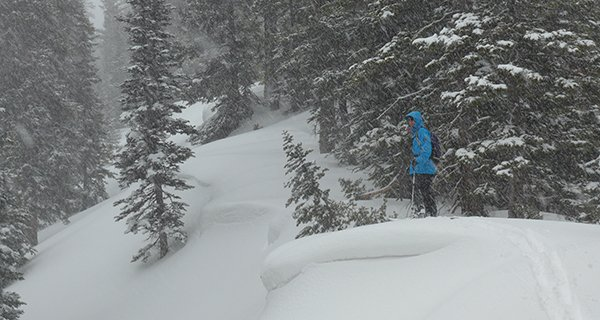 G3 Skins will take you to grat places, Nathaniel Murphy stoked in the Tetons Photo Mike Hardaker | Mountain Weekly News