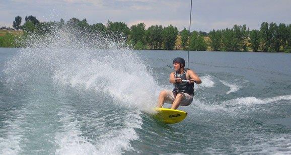 Skurfing Colorado Surfs Up