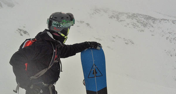 Jonathan Penfield rocking the Westcomb Shift in interior BC Photo | Mountain Weekly News