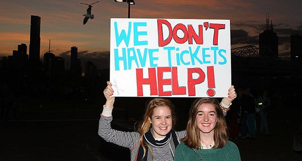 Ticket Scalpers Grateful Dead