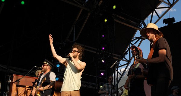 Ed Sharpe and the Magnetic Zeros. Photo: Jonathan Penfield | Mountain Weekly News