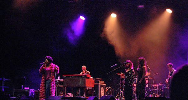 Galactic and Macy Gray. Photo: Jonathan Penfield | Mountain Weekly News