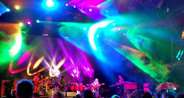 The String Cheese Incident set two. Photo: Jonathan Penfield | Mountain Weekly News