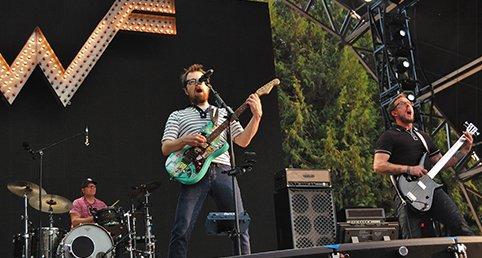 Weezer. Photo: Jonathan Penfield | Mountain Weekly News