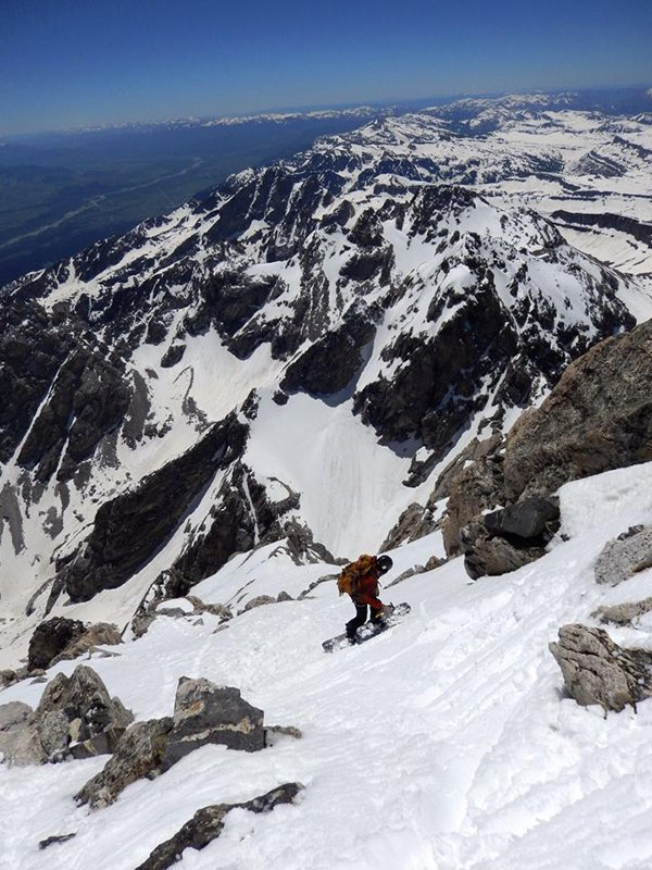 Fitwell Backcountry Boot on the Grand Teton
