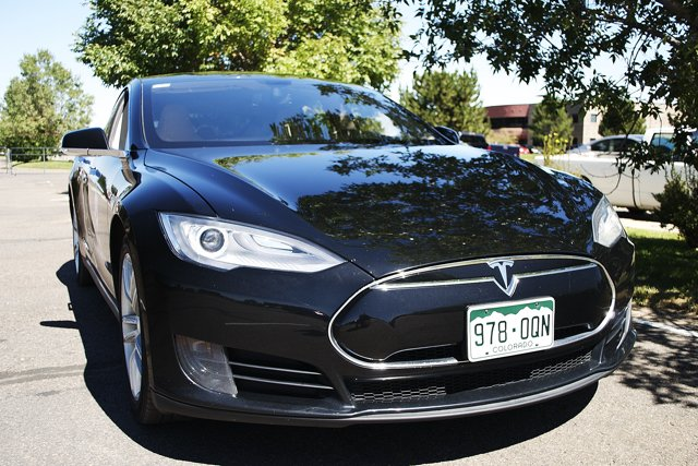 Tesla Model S Electric Car Photo Dann Albright | Mountain Weekly News