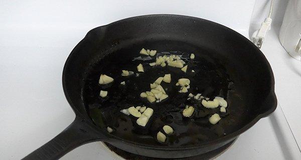 Saute some Garlic